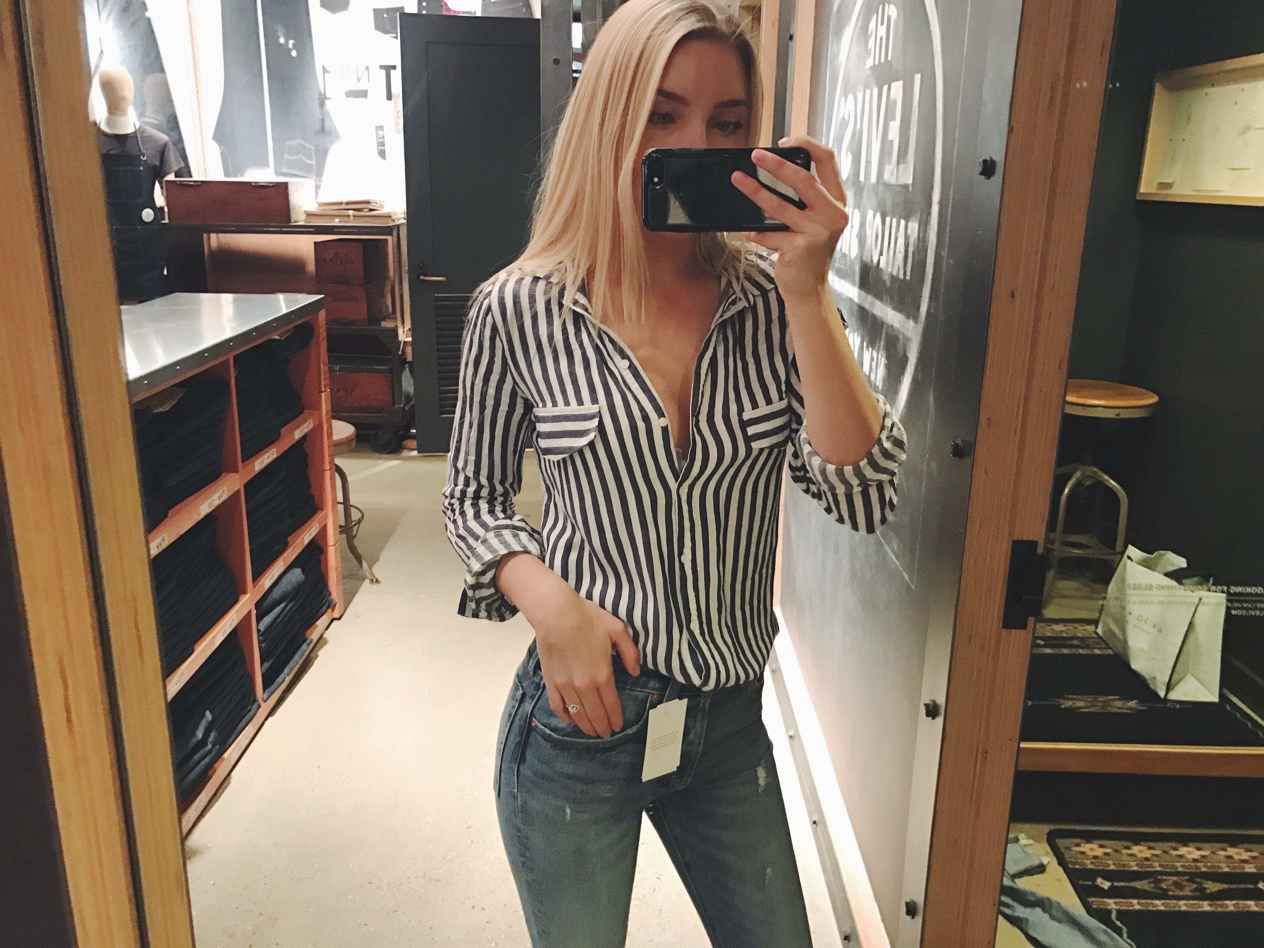 töja ut jeans